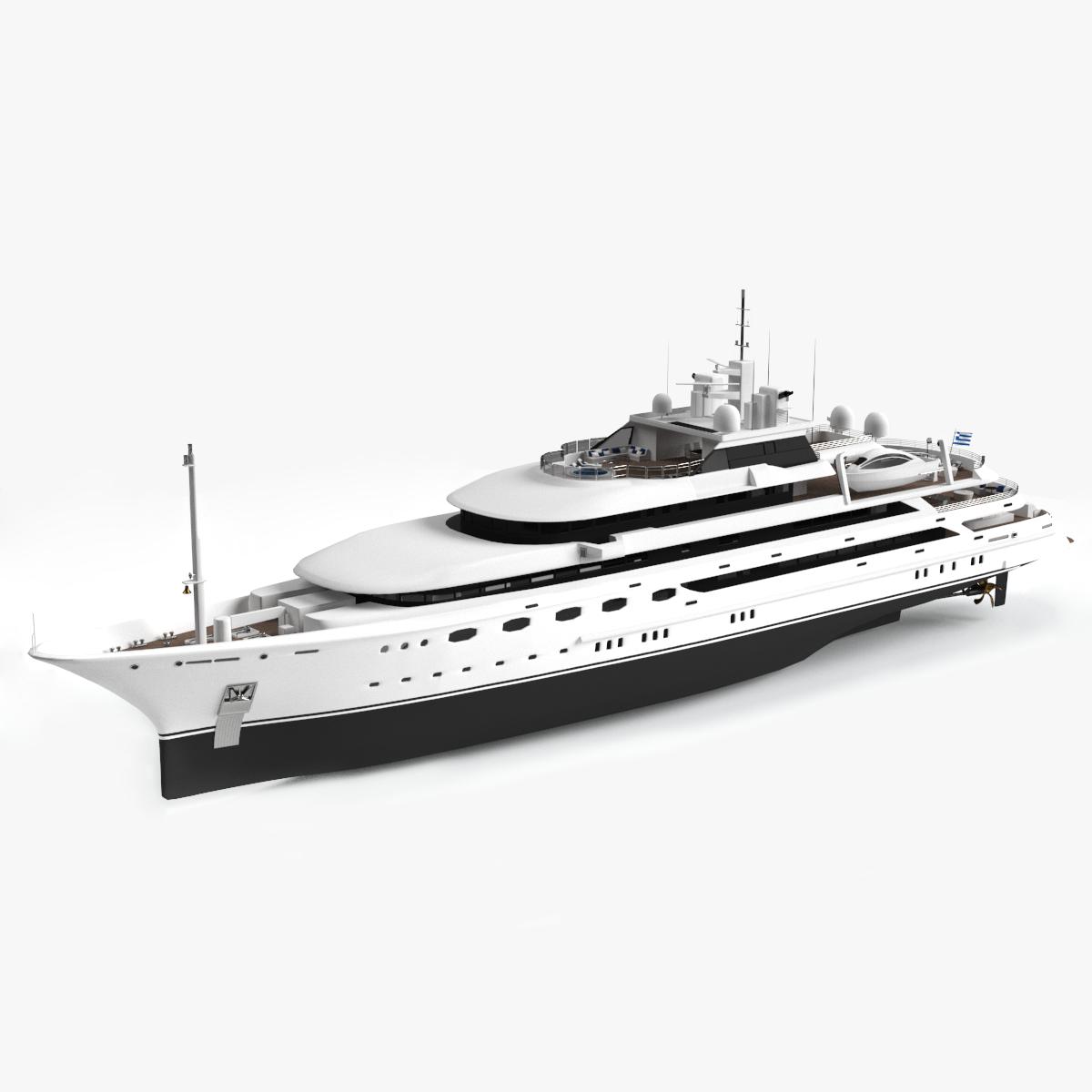 omega yacht 3D model