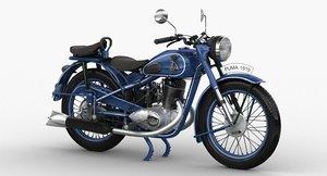 3D model izh-49 1952 modeled