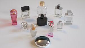3D model perfume glasses