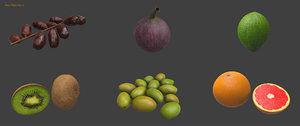 fruit pack 2 3D model