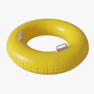swim handle 3D