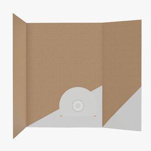 3D pbr folder model