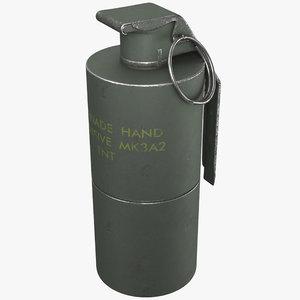 grenade mk3a2 model