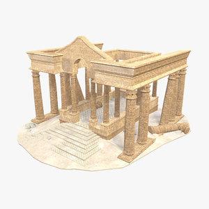 3D model - persian building