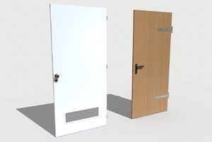 3D basement doors