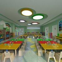 Kindergarden Classroom with Toys