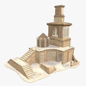 - persian building 3D model
