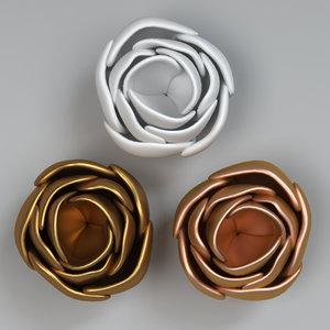 flower 03 3D model