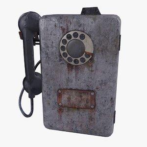 3D pripyat payphone