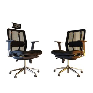 office chair 2 different 3D model