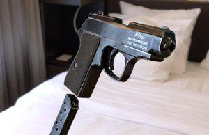 uv walther ppk pistol model