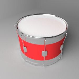 3D tom-tom drum model