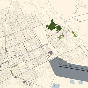 3D najaf city iraq