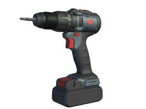 3D cordless drill screwdriver