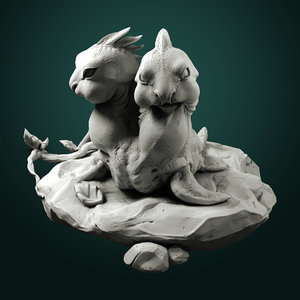 monsters creature 3D model