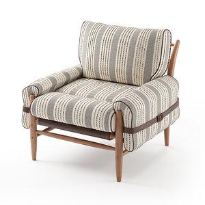 3D lounge furniture model
