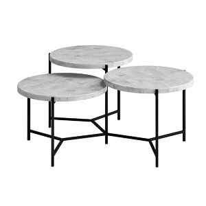 clean coffee table 3D model