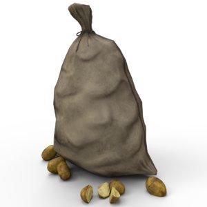 pbr bags 3D model