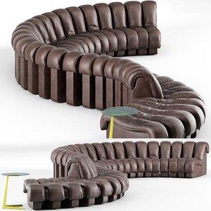 3D ds-600 sofa model