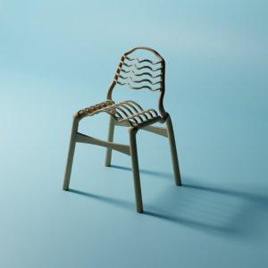 weird chair 3D