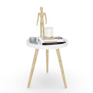 3D model set decoration