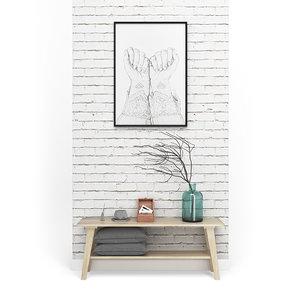 3D decoration set - livingroom model