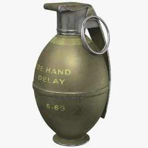 3D grenade m26