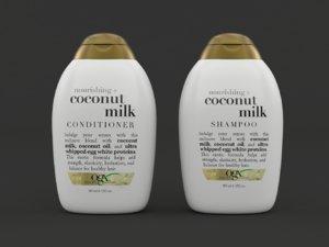coconut milk shampoo conditioner model