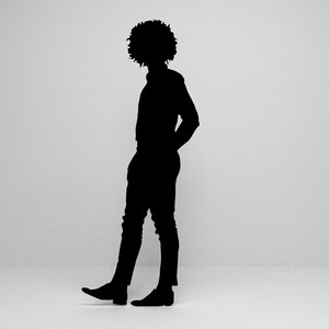 3D silhouette scenes