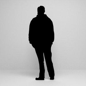 silhouette scenes 3D model