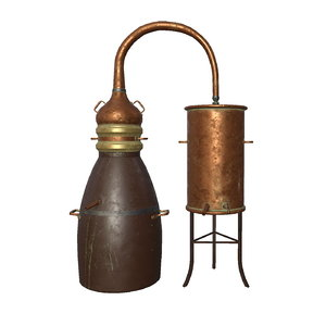 old distillation 3D