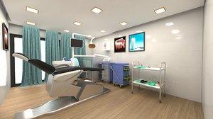 dental room 3D model