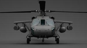 sikorsky uh-60 uh 3D model