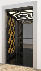 honeycomb elevator model