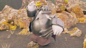 armor sauron 3D model