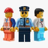 Three Lego Character