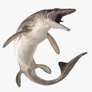 mosasaurus reptiles 3D model