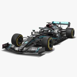 mercedes f1 w11 formula 1 3D model