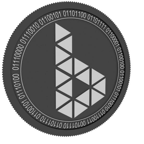 betmatch coin 3D model