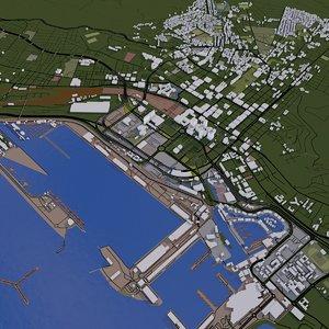 3D capetown city model