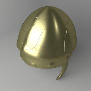 3D chalcidian helmet model