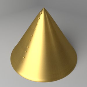 cone helmet 3D