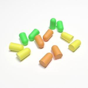 3D ear plugs model