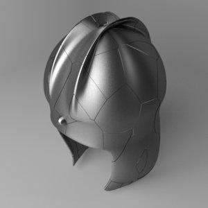 3D ilyian helmet model