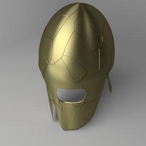corinthian helmet model