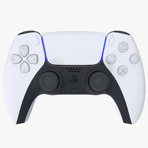 gaming device playing controller 3D model