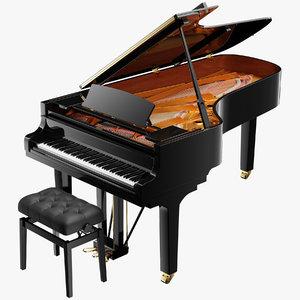 grand piano model