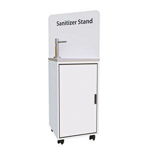 3D standing sanitizer model
