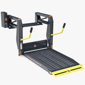 hydraulic wheelchair lift chair 3D model