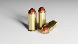 bullets 3D model